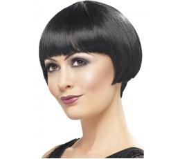 Trumpų plaukų 20's perukas (1 vnt.)