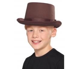 Vaikiška skrybėlė / ruda (1 vnt.)