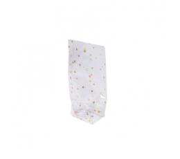 """Vaišių maišeliai """"Auksinės žvaigždutės"""" (6 vnt./11,5x18,5 cm)"""