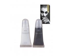 Veido grimas, baltas-juodas (2 vnt./11 ml)