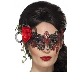 """Veido kaukė """"Raudonoji rožė"""""""