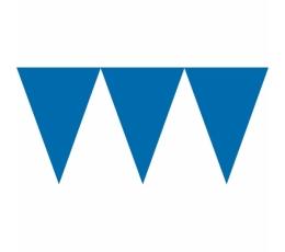 Vėliavėlių girlianda, mėlyna (4,5 m)