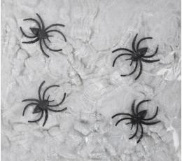 Voro tinklas su voriukais, baltas (20 g)