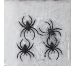 Voro tinklas su voriukais, baltas (500 g.)