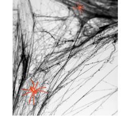 Voro tinklas su voriukais, juodas (60 g)
