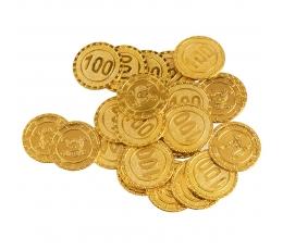 Žaislinės monetos (24 vnt.)