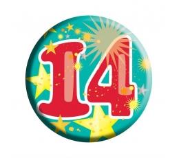 """Ženkliukas """"14"""" (6,5 cm)"""
