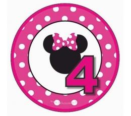 """Ženkliukas Minė """"4"""" (5,5 cm)"""