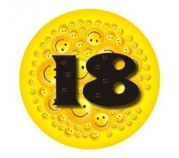 """Ženkliukas""""Šypseniukai-18"""" (7.7cm.)"""