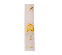 """Žvakė """"Angeliukas"""", berniukui (38 cm)"""
