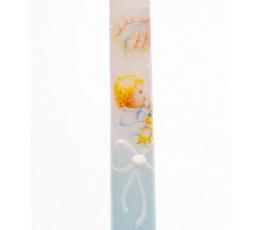 """Žvakė """"Kūdikis"""", melsva (38 cm.)"""