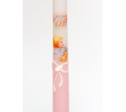 """Žvakė """"Kūdikis"""", rožinė (30 cm.)"""