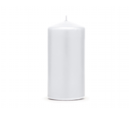Žvakė, pailga balta (11,5x6 cm)