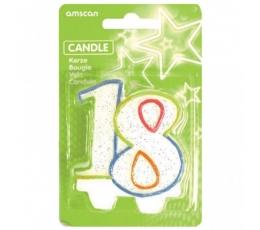 """Žvakutė """"18"""""""