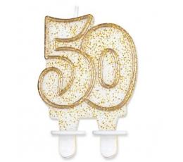 """Žvakutė """"50"""" (1 vnt.)"""