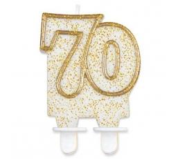 """Žvakutė """"70"""" (1 vnt.)"""