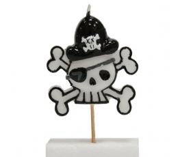 """Žvakutė tortui """"Piratas"""""""