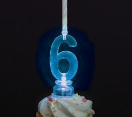 """Žvakutės su spalvą keičiančiu laikikliu """"1"""" 0"""