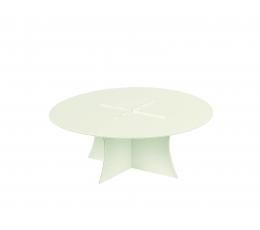 Padėklas-tortinė,   balta perlamutrinė (27X10 cm)