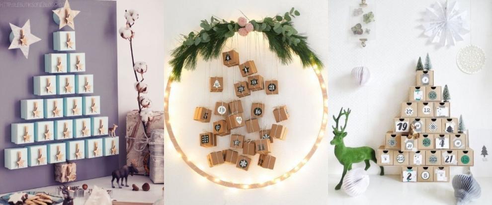 Pasidaryk pats: 7 originalios Advento kalendorių idėjos