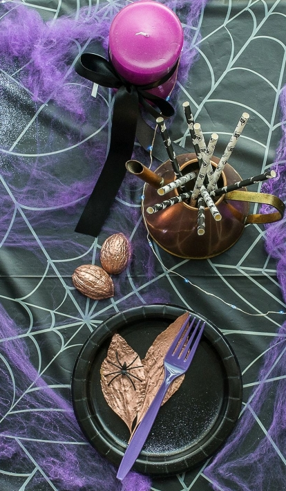 Paslaptingas Helovino vakarėlio dekoras