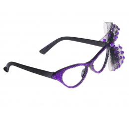 """Akiniai """"Violetinis kaspinas"""" (1 vnt.)"""