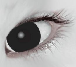 """Akių lęšiai """"BLACKOUT"""" (1 dienos) 1"""