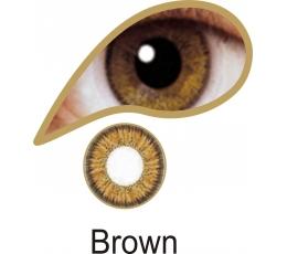 """Akių lęšiai """"BROWN"""" (1 dienos)"""