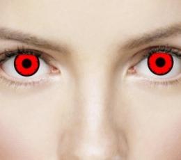 """Akių lęšiai """"DEAD RED"""" (1 dienos) 0"""