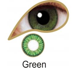 """Akių lęšiai """"GREEN"""" (1 dienos)"""