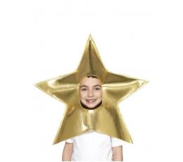 """Galvos aksesuaras """"Auksinė žvaigždė"""""""