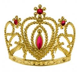 Auksinė princesės karūna-tiara (1 vnt.)