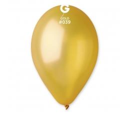 Auksiniai perlamutriniai balionai (10vnt./28 cm.)