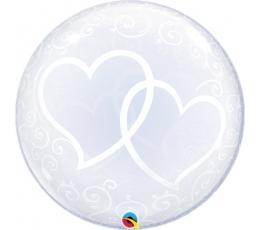 """Bablas """"Baltos širdelės"""" (24"""" 56 cm.)"""