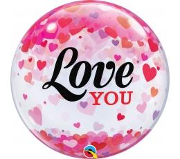 """Balionas-bablas """"Love you"""" (56 cm)"""