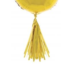 Balionų dekoracijos, auksinės (5 vnt.)