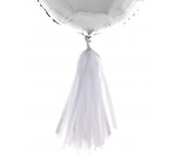 Balionų dekoracijos, baltos (5 vnt.)
