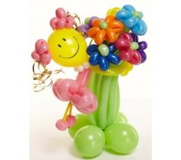 """Balionų figūra """"Gėlių fėja"""""""
