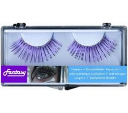 Blakstienos violetinės su blizgučiu (1 pora)