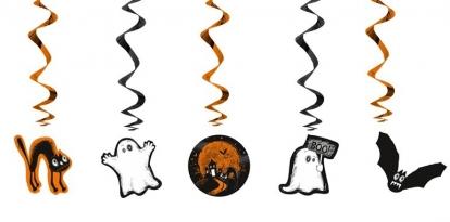 "Dekoracija ""Halloween"" (5  vnt./60 cm.)"