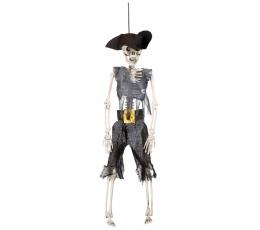 """Dekoracija """"Piratas - skeletas"""" (1 vnt./40 cm.)"""