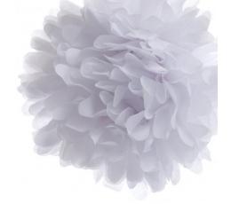 """Dekoracija """"Pūkuočiai"""", balti (2 vnt./30 cm)"""
