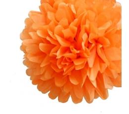 "Dekoracija ""Pūkuočiai"" / oranžiniai (2vnt./19cm.)"