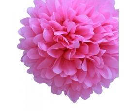 """Dekoracija """"Pūkuočiai"""" /rožiniai (2vnt./19cm.)"""