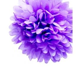 """Dekoracija """"Pūkuočiai""""/šv. violetiniai (2vnt./19cm.)"""