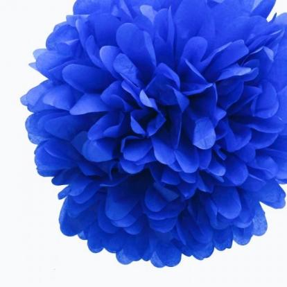 "Dekoracija ""Pūkuočiai"" / mėlyni (2 vnt./30 cm)"