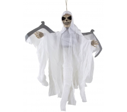 "Dekoracija ""Skeletas"" / baltas (1 vnt./55 cm.)"