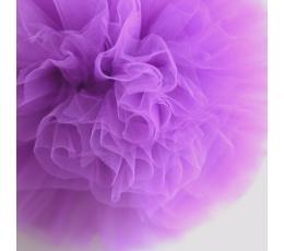 """Dekoracija """"Tiulio pūkuotis""""/ violetinė (1 vnt./25 cm.)"""