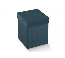 Dėžutė - Juta Blu stačiakampė / mėlyna (1 vnt./345*345*110 mm.)