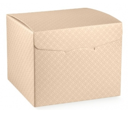 Dėžutė - kvadratinė / kreminė (1 vnt./245x245x150 mm.)